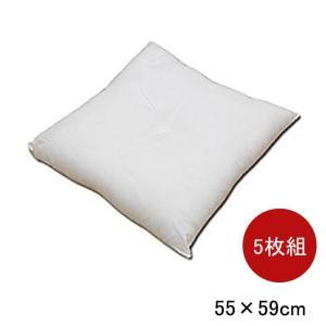 ヌードクッション 「銘仙判 座布団タイプ 5枚セット」 約55×59cm 座布団 和室 客間 国産 手芸|igusakotatu