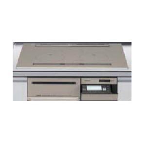 日立製(LIXIL)HT-M350XTWFLX 3口フルIH・ダブルオールメタルタイプ 無水両面焼グリル  トップ75cm▽IHクッキングヒーター ih-heater