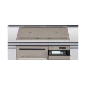 日立製(LIXIL)HT-M350XTFLX 3口フルIH・ダブルオールメタルタイプ 無水両面焼グリル トップ60cm▽IHクッキングヒーター ih-heater