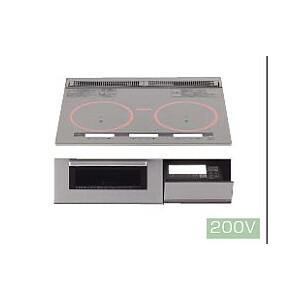 パナソニック製(TOCLAS)CHTRS6XP W600 3口IHヒーター ▽IHクッキングヒーター|ih-heater