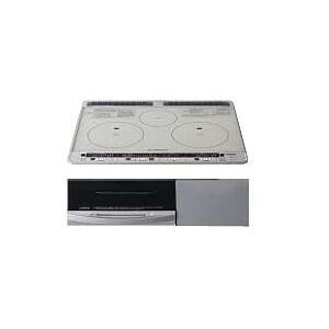 日立製(TOCLAS)HTL7STFS 3口IHシングルオールメタル ▽IHクッキングヒーター|ih-heater