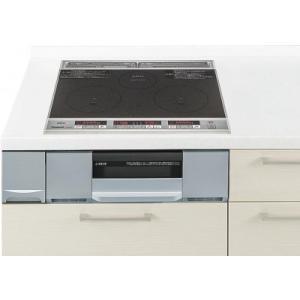 パナソニック製(Panasonic)LESG32AS 2口IH+ラジエント 鉄・ステンレス対応 ▽IHクッキングヒーター 〔納期約2週間〕 ih-heater