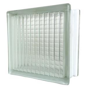 6個セット 送料無料 ガラスブロック 世界で有名なブランド品 厚み95mmクリア色平行クロスgb0395-6p ihome