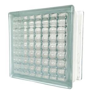 6個セット 送料無料 ガラスブロック 世界で有名なブランド品 厚み95mmクリア色平行水晶 gb0595-6p ihome