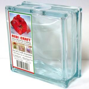 送料無料 ガラスブロック 円形口 世界で有名なブランド品 貯金箱 募金箱gb11080|ihome