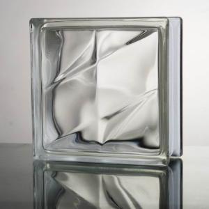 6個セット 送料無料 ガラスブロック 世界で有名なブランド品 厚み80mmクリア色二重星gb2480-6p|ihome