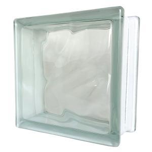 6個セット 送料無料 ガラスブロック 世界で有名なブランド品 厚み95mmクリア色雲 gb2695-6p ihome