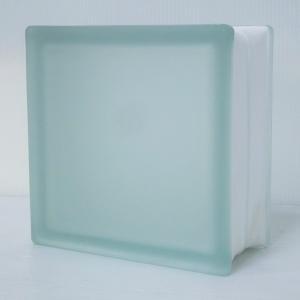 6個セット 送料無料 ガラスブロック 厚み95mmクリア色フロストタンジェリンgb2995-6p ihome