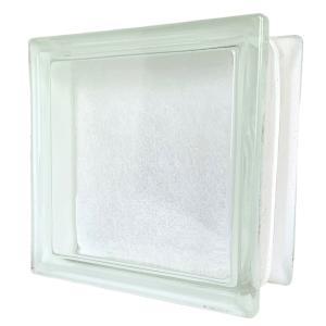 ガラスブロック 日本基準サイズ 日本電気ガラス 厚み95mmクリア色和紙ダイレクトgb29995|ihome