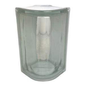 8個セット 送料無料 ガラスブロック 世界で有名なブランド品 厚み80mmクリア色コーナーgb9280-8p|ihome