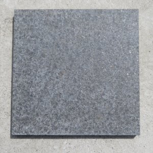 敷石ガーデニング庭黒御影石敷石バーナー石材板石方形平板gtsb04【本州限定販売】