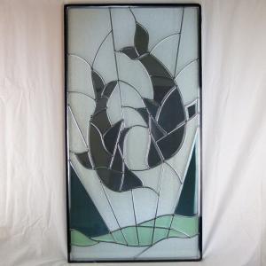 ステンド グラス ステンドグラス ステンドガラス デザインパネルsgr17|ihome