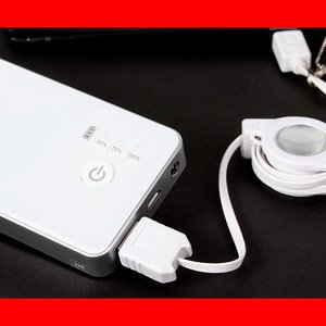 iPhone7/7Plus対応 モバイルバッテリー スマホ充...