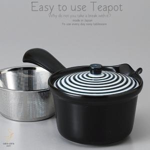 和食器 美味しい お茶 有田焼 藍駒 ステンレス 茶漉し付 急須 ティーポット 茶器 食器 緑茶 紅茶 ハーブティー おうち うつわ 陶器 日本製|ii-otto