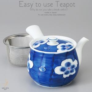 和食器 大人の美味しい お茶 有田焼 梅香 茶漉し付 特大 急須 ティーポット 茶器 食器 緑茶 紅茶 ハーブティー おうち うつわ 陶器 日本製|ii-otto