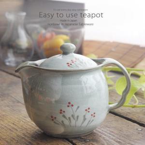 和食器 一生使い続けたい美味しい お茶 お花畑 ティーポット 茶器 食器 緑茶 紅茶 ハーブティー おうち うつわ 陶器 日本製 美濃焼|ii-otto