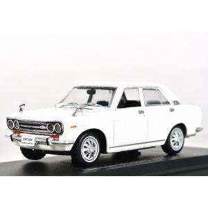 NOREV【ノレブ】1/43 日産 ブルーバード 1600 SSS (1969) White [420141]|iiado-oska