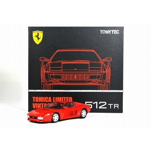 トミカリミテッドヴィンテージ NEO LV-N フェラーリ 512 TR(赤)|iiado-oska