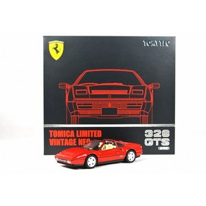 トミカリミテッドヴィンテージ NEO LV-N フェラーリ 328 GTS(前期型)1980年代 <赤>|iiado-oska