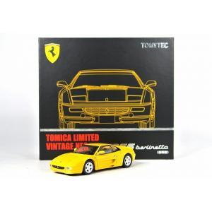 絶版★ トミカリミテッドヴィンテージ NEO LV-N フェラーリ F355 ベルリネッタ(前期型) <Yellow>|iiado-oska