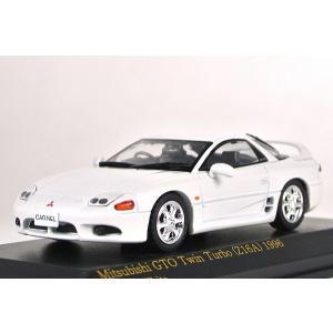 ☆NEW☆CARNEL【カーネル】1/43 三菱 GTO Twin Turbo (Z16A) 1996 Galaxy White CN439605|iiado-oska