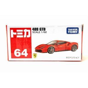 絶版★トミカ No.64 488 GTB iiado-oska