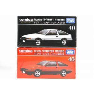 トミカ プレミアム 40トヨタ スプリンター トレノ(AE86)/トミカ プレミアム 40トヨタ スプリンター トレノ(AE86)(トミカプレミアム発売記念仕様)2台セット|iiado-oska