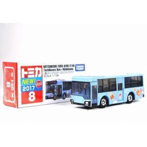 絶版★ トミカ No.8 三菱ふそう エアロスター 立川バス × リラックマ iiado-oska