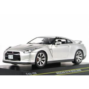 ☆NEW☆ FIRST:43【ファースト43】1/43 日産 GT-R (R35) 2008 SILVER [F43-156] iiado-oska
