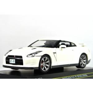 ☆NEW☆ FIRST:43【ファースト43】1/43 日産 GT-R (R35) 2008 WHITE [F43-157] iiado-oska