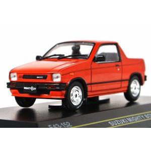 FIRST:43【ファースト43】1/43 スズキ マイティボーイ 1985 Red [F43-152] iiado-oska