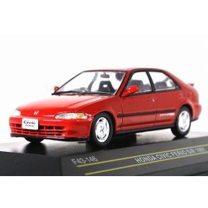 FIRST:43【ファースト43】1/43 ホンダ シビック フェリオ SiR 1991 Red [F43-146] iiado-oska