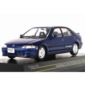 FIRST:43【ファースト43】1/43 ホンダ シビック フェリオ SiR 1991 Blue [F43-147] iiado-oska