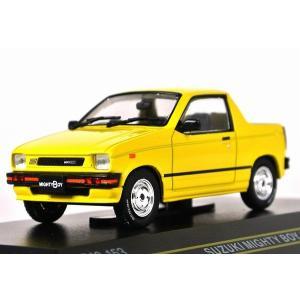 FIRST:43【ファースト43】1/43 スズキ マイティボーイ 1985 Yellow [F43-153] iiado-oska