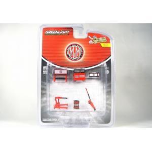 ☆NEW☆ GREENLIGHT【グリーンライト】1/64 Shop Tool Accessories Series 4 MARVEL OIL COMPANY #16080-C|iiado-oska
