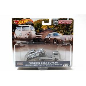 ホットウィール  チームトランスポート  ポルシェ 356A OUTLAW & フォルクスワーゲン ...