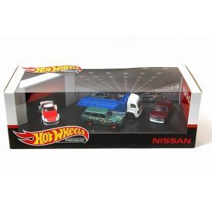 ホットウィール プレミアム コレクターセット Nissan Garage