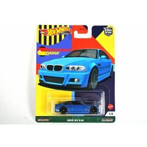 "☆NEW☆ HOT WHEELS【ホットウィール 】マテル 1/64 カーカルチャー BMW M3 E46 ""ドイチュラント デザイン"" [GRJ69-1/5]|iiado-oska"