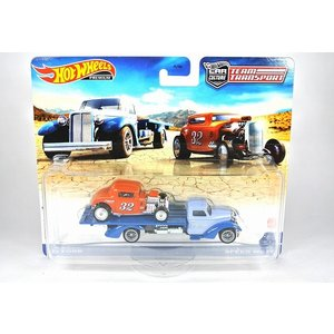 HOT WHEELS【ホットウィール 】チームトランスポート '32 フォード : Speed Waze [FLF56-986L-#32]|iiado-oska