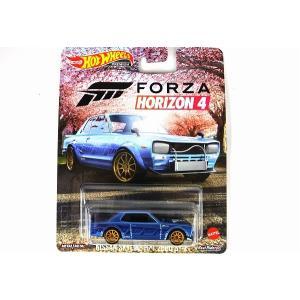 HOT WHEELS【ホットウィール 】マテル 1/64 FORZA HORIZON 4 ニッサン スカイライン H/T 2000 GT-X【GRL69】|iiado-oska