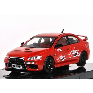 TARMAC WORKS【ターマック ワークス】1/64  三菱 ランサー エボリューション X Rally Red [T64-004-RER] iiado-oska