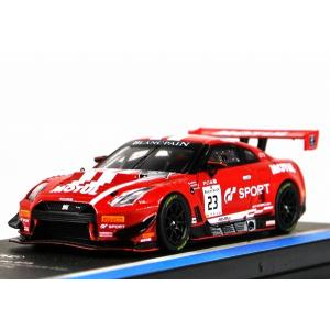 TARMAC WORKS【ターマック ワークス】1/64 日産 GT-R ニスモ GT3 #23 Endurance Cup 2018  Pre-season Testing iiado-oska