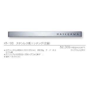 メタル(金属)表札 ステンレス板シエッジング KT-100|iidaya