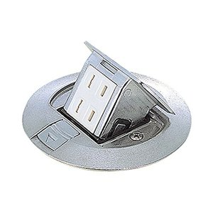 Panasonic 丸型アップコン 2コ口(ボックス,カバー付) DU51401PV|iigsp