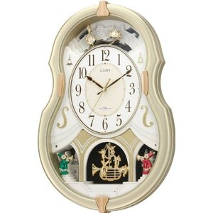CITIZEN シチズン 電波掛時計 パルミューズコンチェル 4MN496-018 iigsp