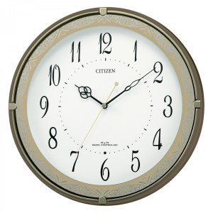 CITIZEN シチズン 電波掛時計 ネムリーナクライス 4MYA13CZ06 iigsp
