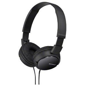 SONY ソニー ダイナミック密閉型ヘッドホン (ブラック) MDR-ZX110-B