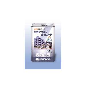 【送料無料】 日本ペイント住宅コンクリート用浸透性吸水防止塗料水性シリコン浸透ガード 15kg