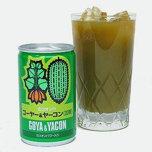 野菜ジュース ミリオンのゴーヤ&ヤーコン|iimon-ajisen