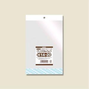 クリスタルパックH(ヘッダー付き)(H14-20#6793100 HEIKO)100枚入り メール便|iimono-ya